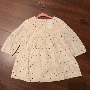 NWT Baby Gap dress polka dot 18-24M
